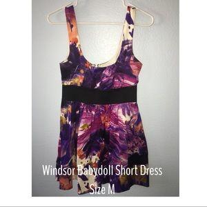 Windsor Babydoll Short Dress